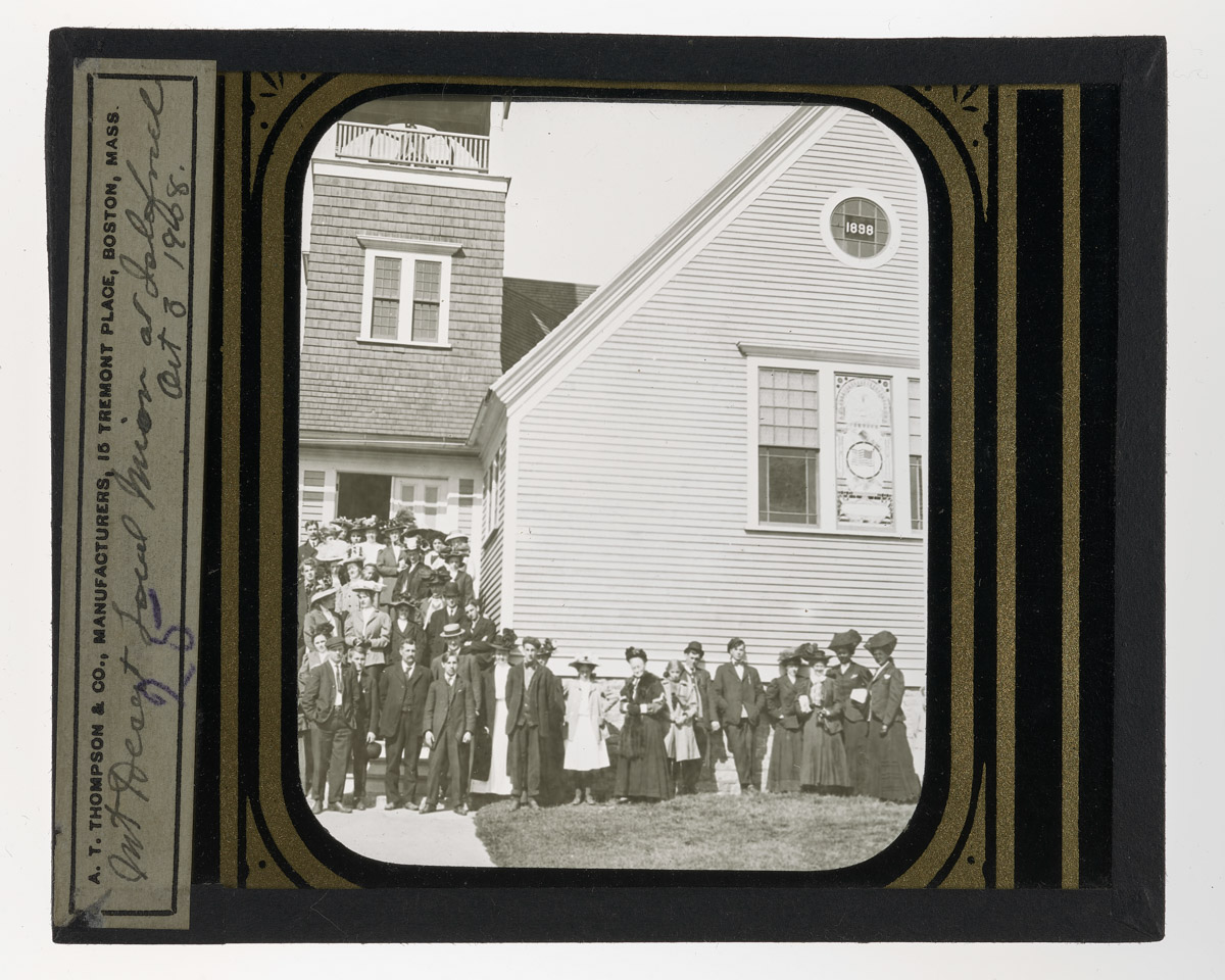 Mount Desert Local Mission at Islesford Glass Plate Negative, October 3, 1908