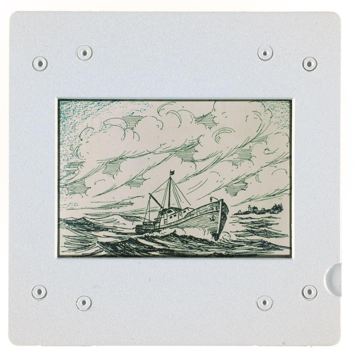 Drawing of the Sunbeam at Sea Slide 2, 1961-1982