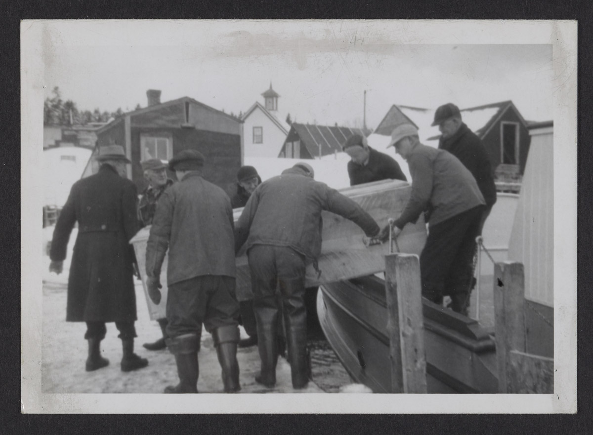 Bringing Home a Body Photograph, January 6, 1947
